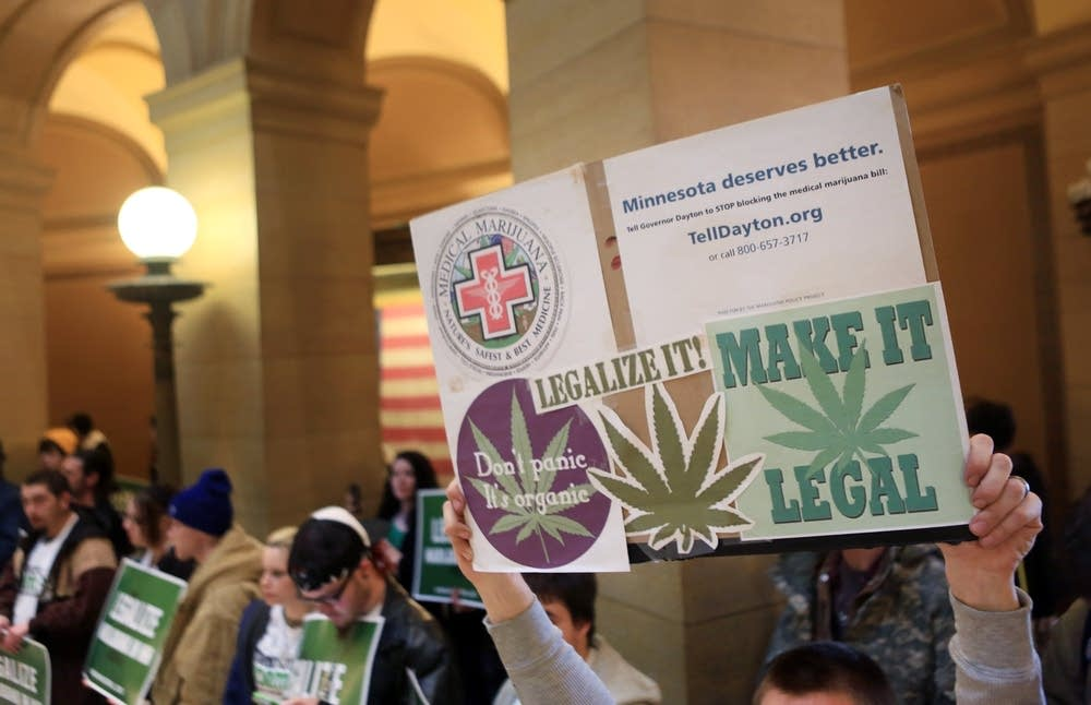 Legalize marijuana rally