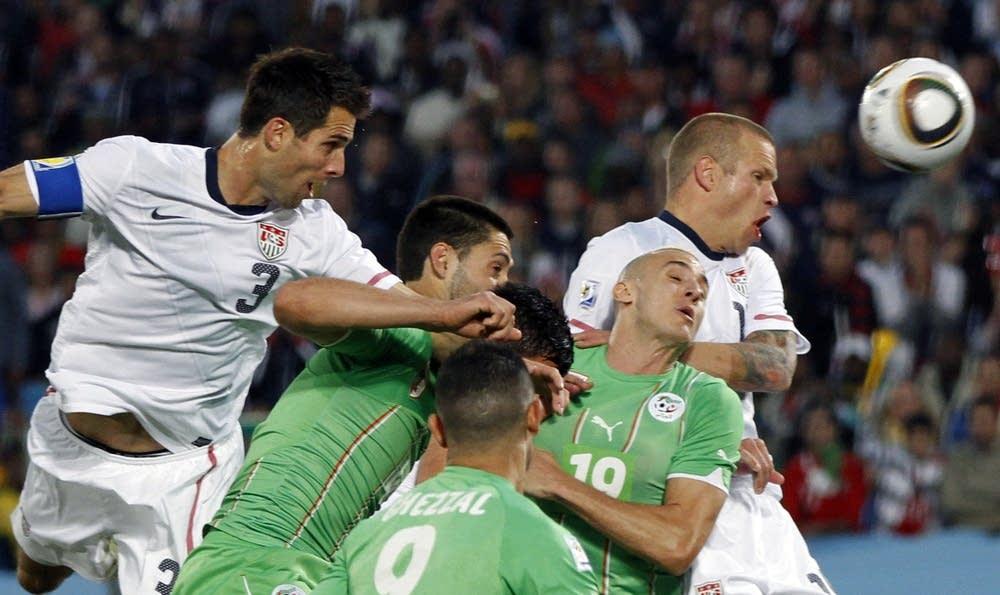 US, Algeria World Cup