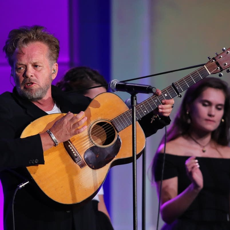 John Mellencamp performs at the Starkey Gala in St. Paul