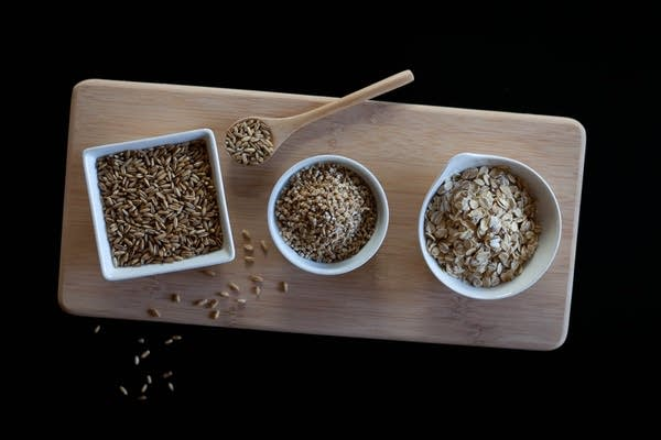 Different oatmeals