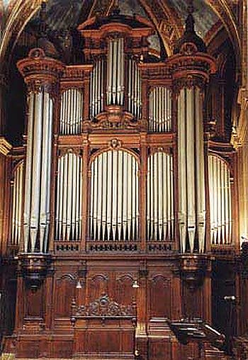 1880 Cavaillé-Coll organ at Église Saint-Francis de Sales, Lyon, France