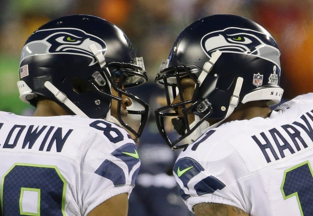 Doug Baldwin, Percy Harvin