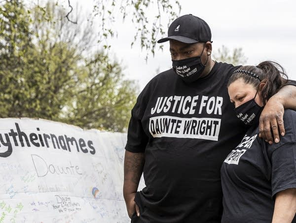 A vigil and march in honor of Daunte Wright