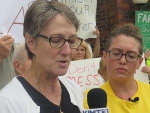 Pam Seebach, a pastor of Newburg United Methodist Church.