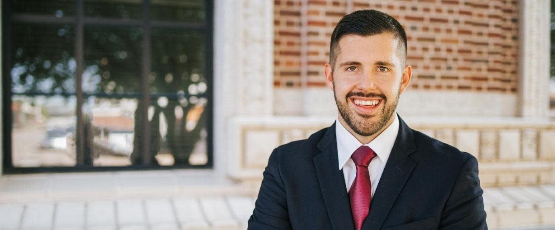 Dan Wolgamott, DFL candidate in the House District 14B race.