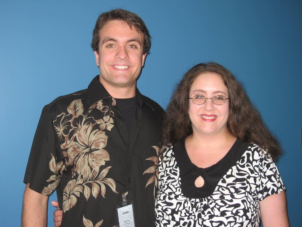 Julie and Alex Schwartz