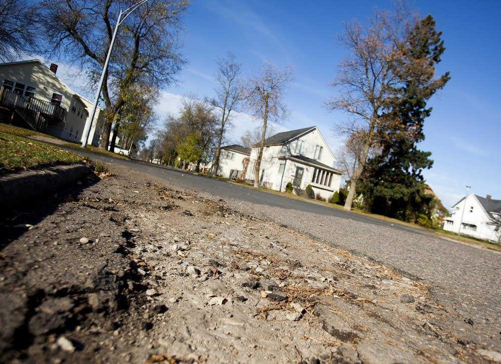 Deteriorating roads
