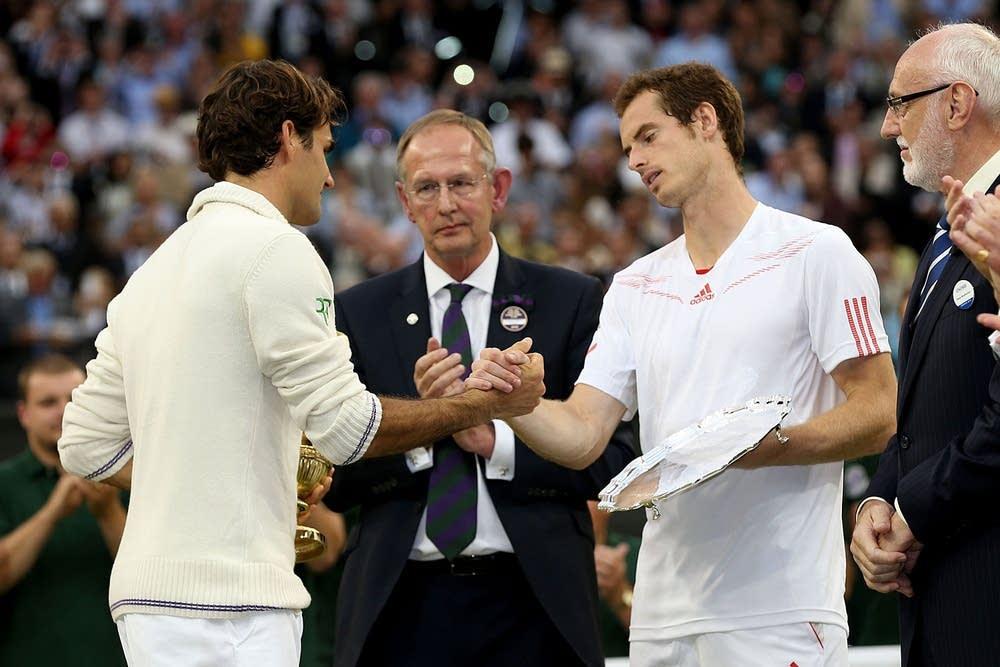Federer, Murray