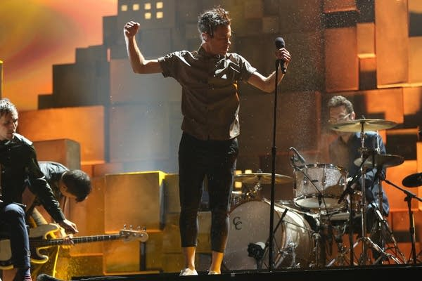 fun. performs at the Grammys