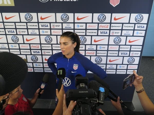 U.S. Women's National Soccer Team star Alex Morgan