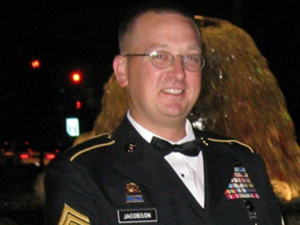 Army National Guard Sgt. Lou Jacobson