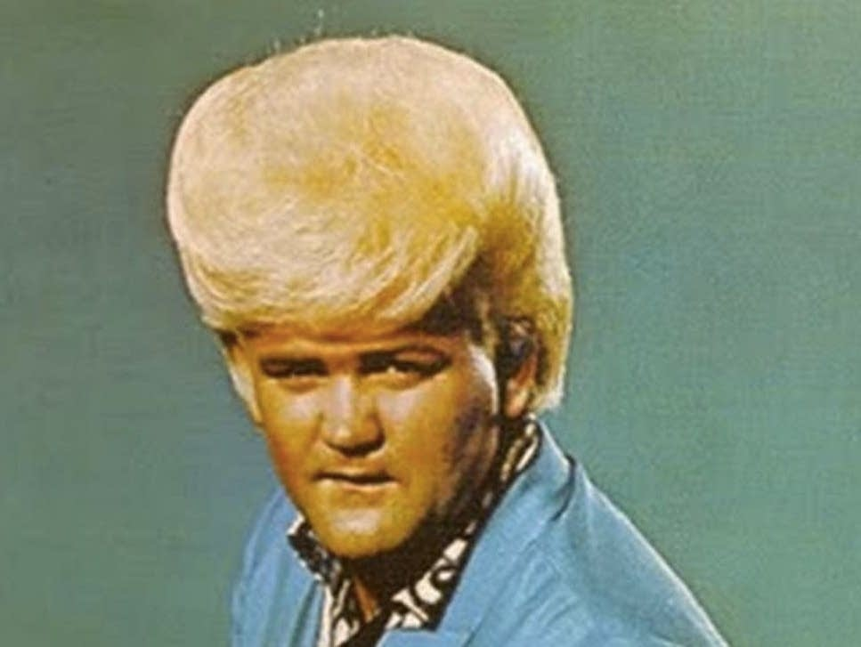 A detail from Wayne Cochran's 'Last Kiss' single cover.