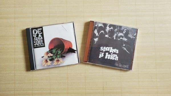 Photo of 2 De La Soul CDs: Stakes is High & De La Soul Is Dead