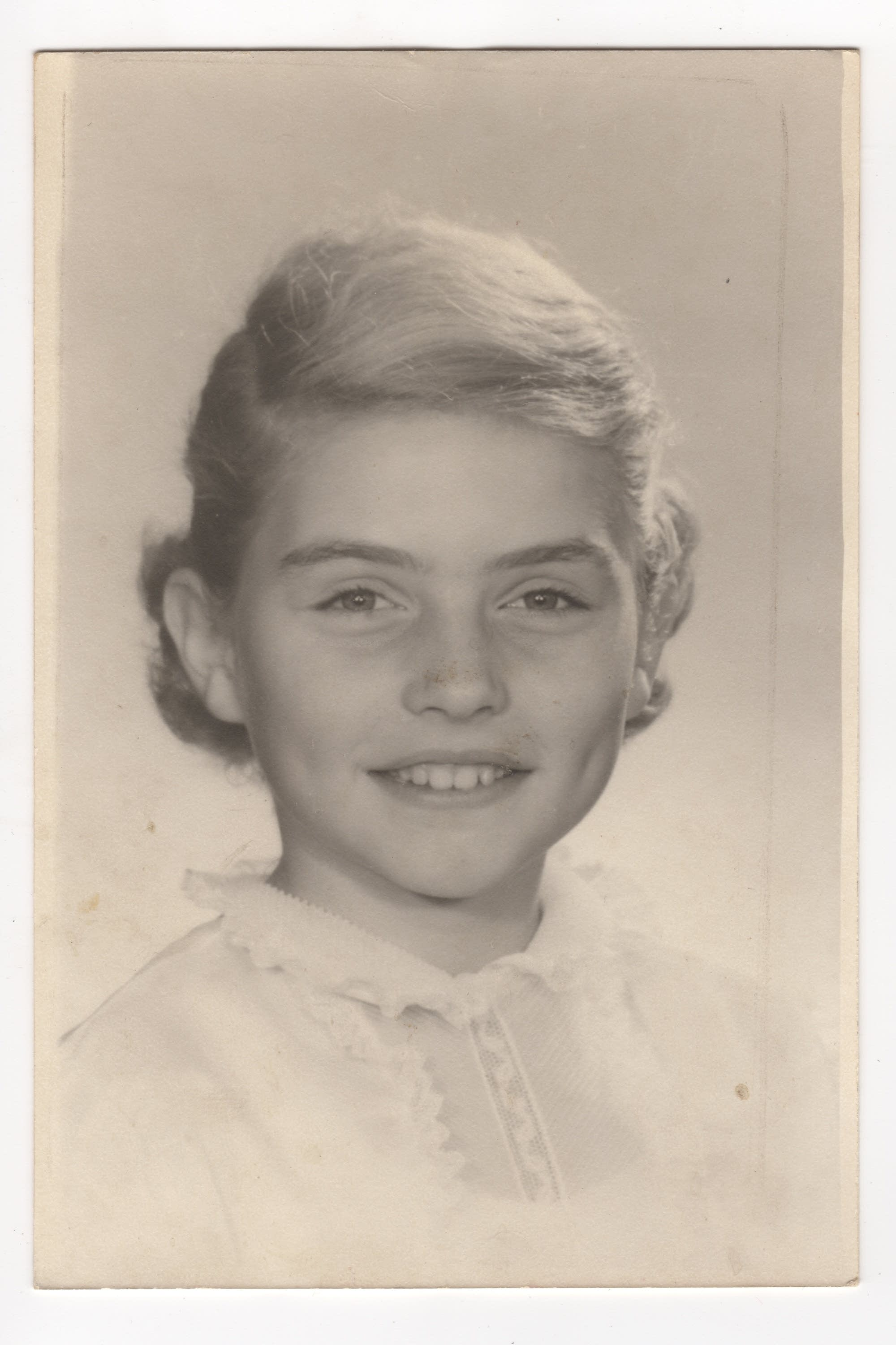 Debbie Harry as a child.