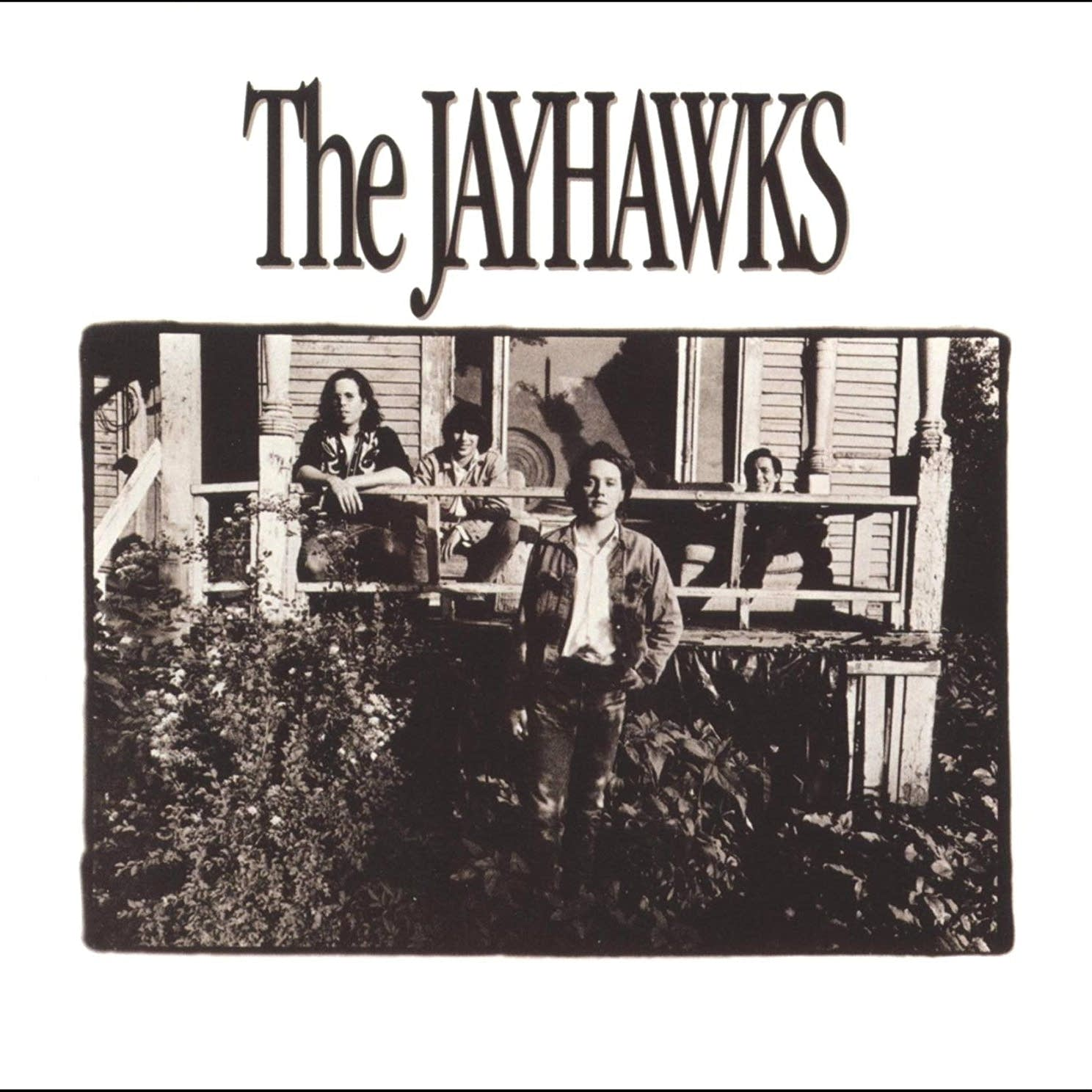 Norm Rogers appears with the Jayhawks on their debut album cover.