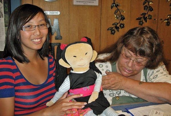 Hmong doll