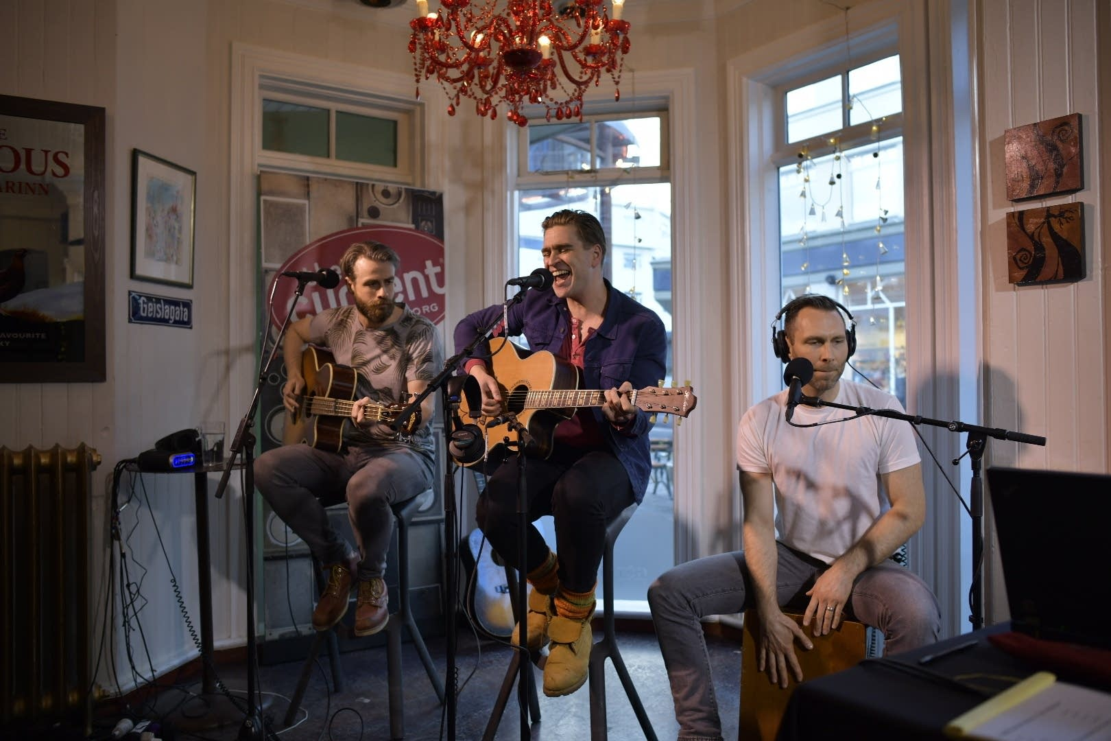 Icelandic band 200,000 Naglbitar live on The Current