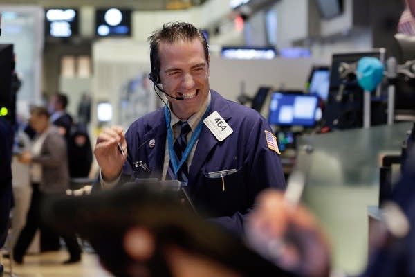 Stock market has a good day