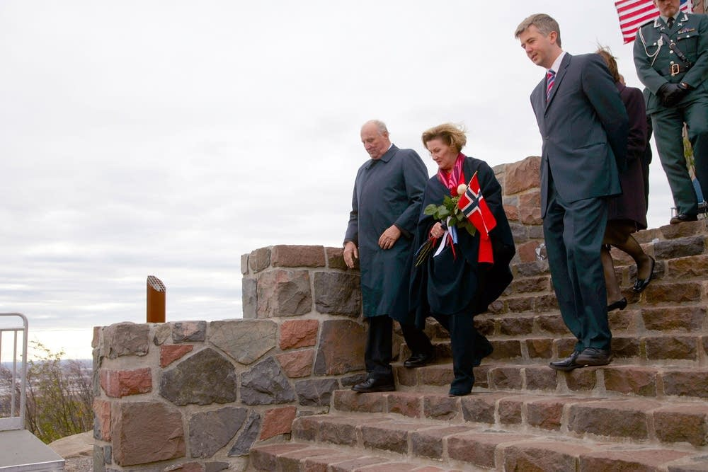 Dedication of Enger Tower