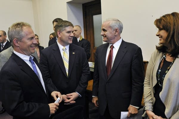 Mark Dayton, Amy Koch, Geoff Michel, Kurt Zeller