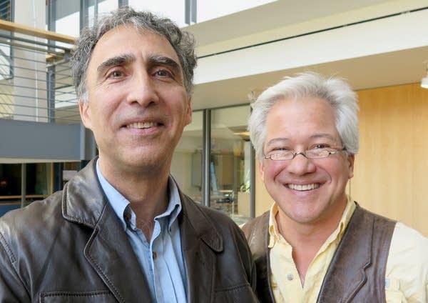 John Radsan (left) and Carl Moy