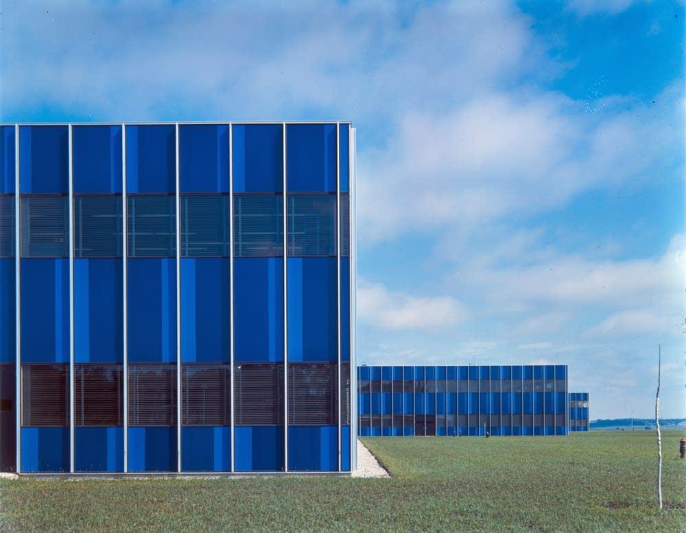 IBM Building in Rochester, Minn., 1958