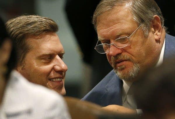 Kurt Daudt, left, and Tom Bakk