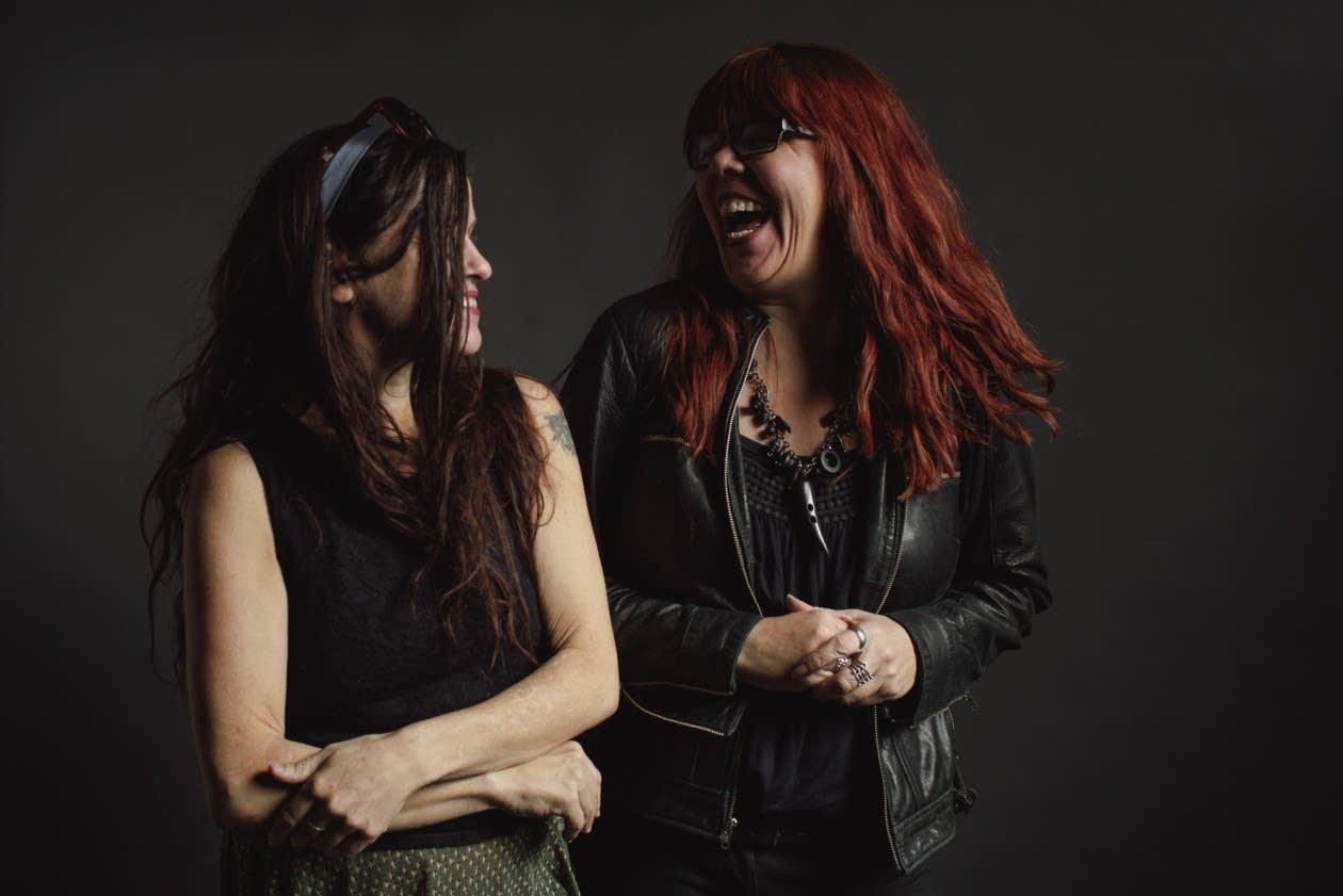 Babes in Toyland's Kat Bjelland and Lori Barbero