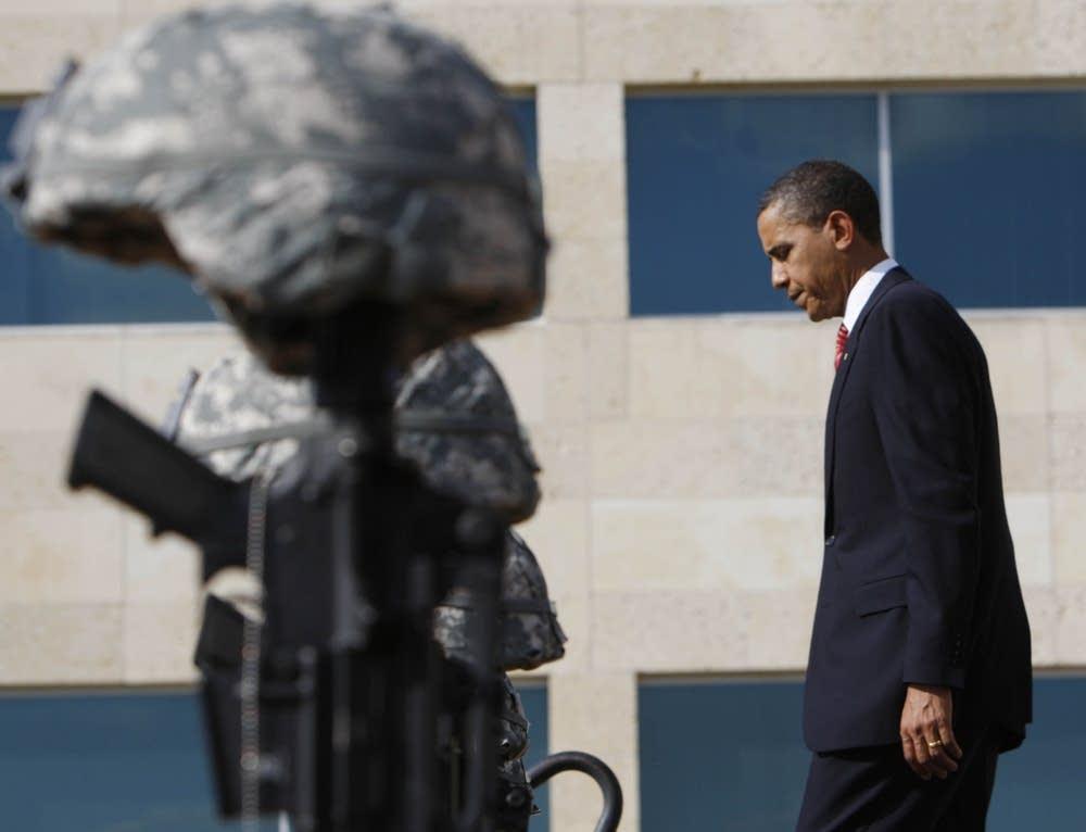 President Barack Obama at Fort Hood