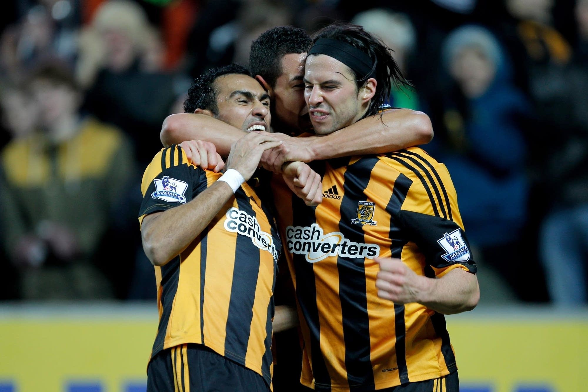 hull city goal celebration