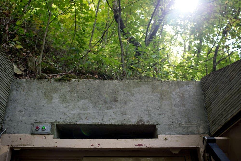 Bat entrance