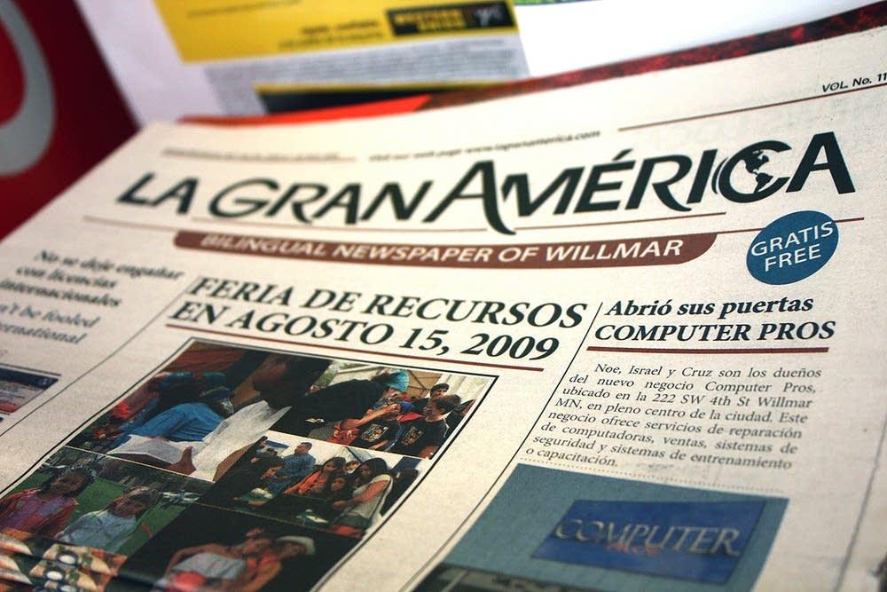 Trilingual newspaper