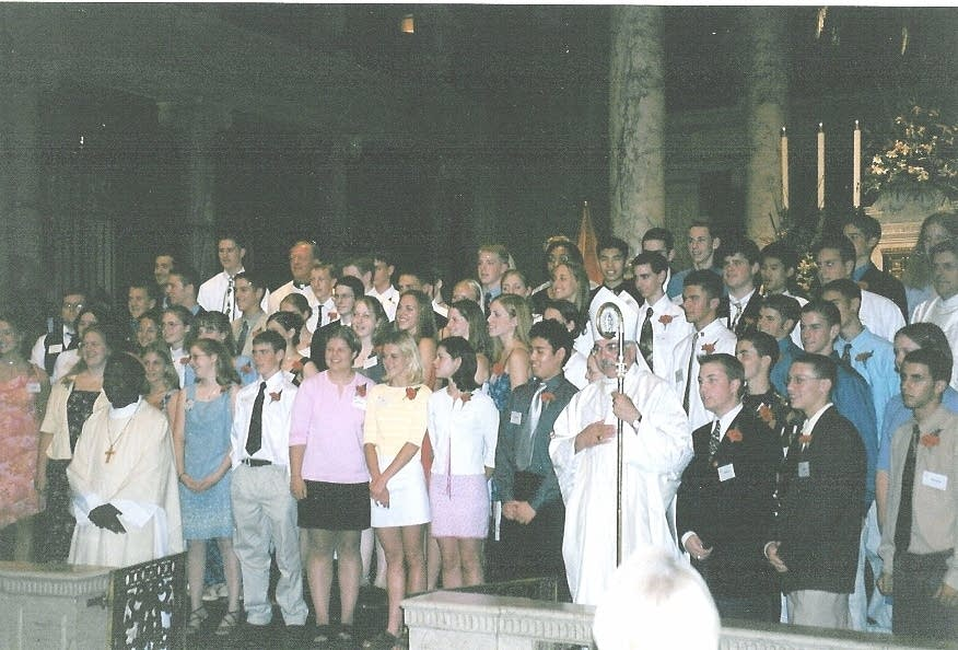 Tyler Suter's confirmation, 2000