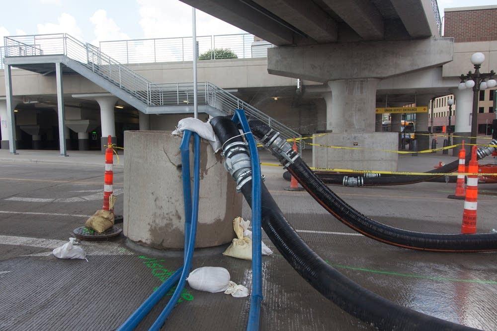 Pumps at Union Depot