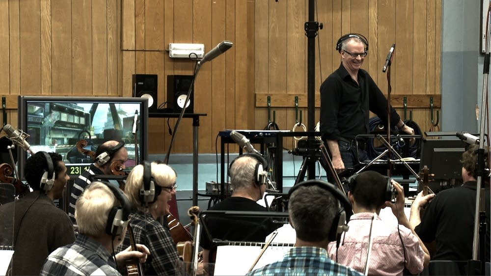 Orchestra at Abbey Road Studios