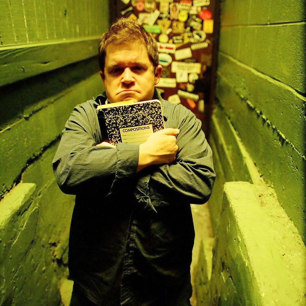 Comedian and author Patton Oswalt.