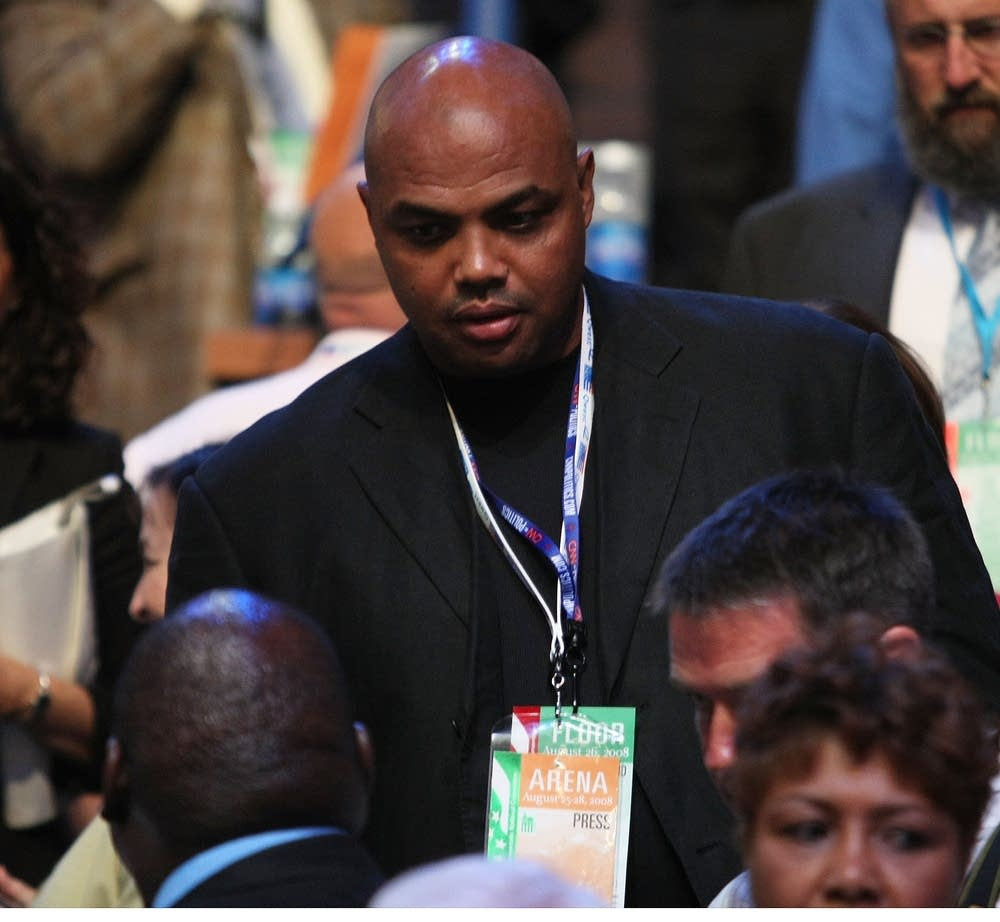 Charles Barkley at the DNC