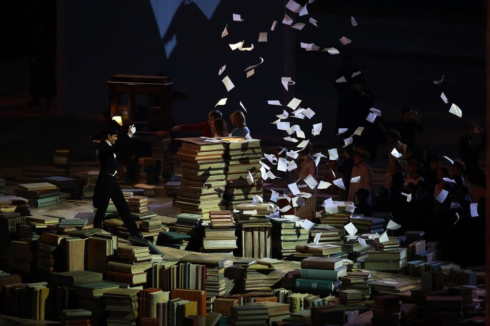 Performers celebrate Russian literature