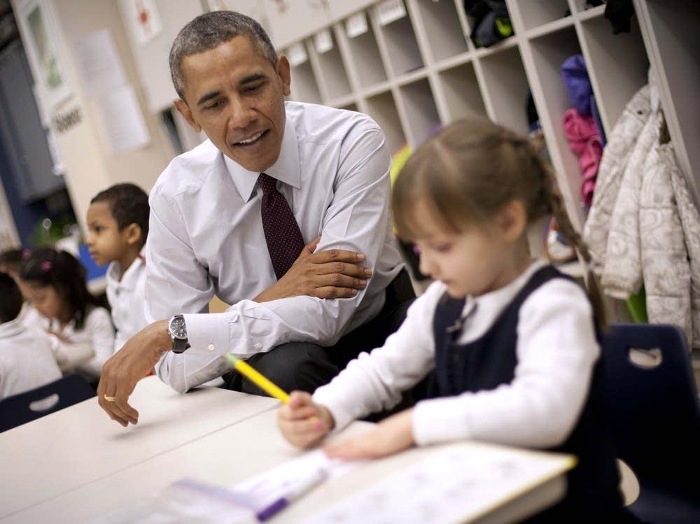 Barack Obama, Emily Hare