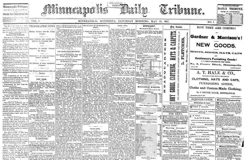 Happy birthday, Star Tribune | MPR News