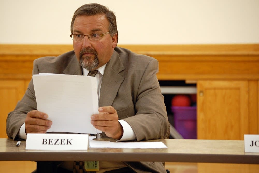 Elk River Superintendent Mark Bezek