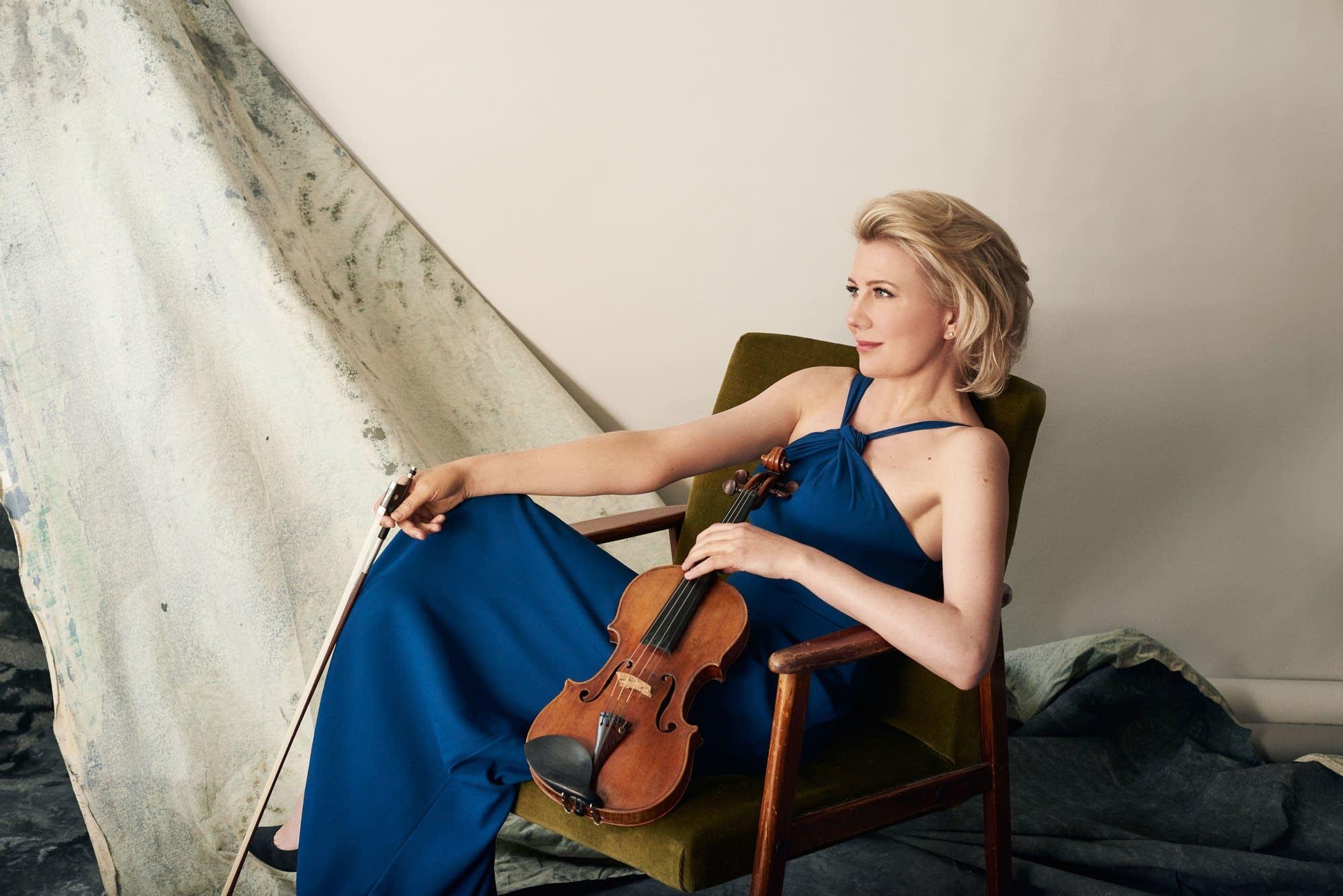 Violinist Elina Vahala