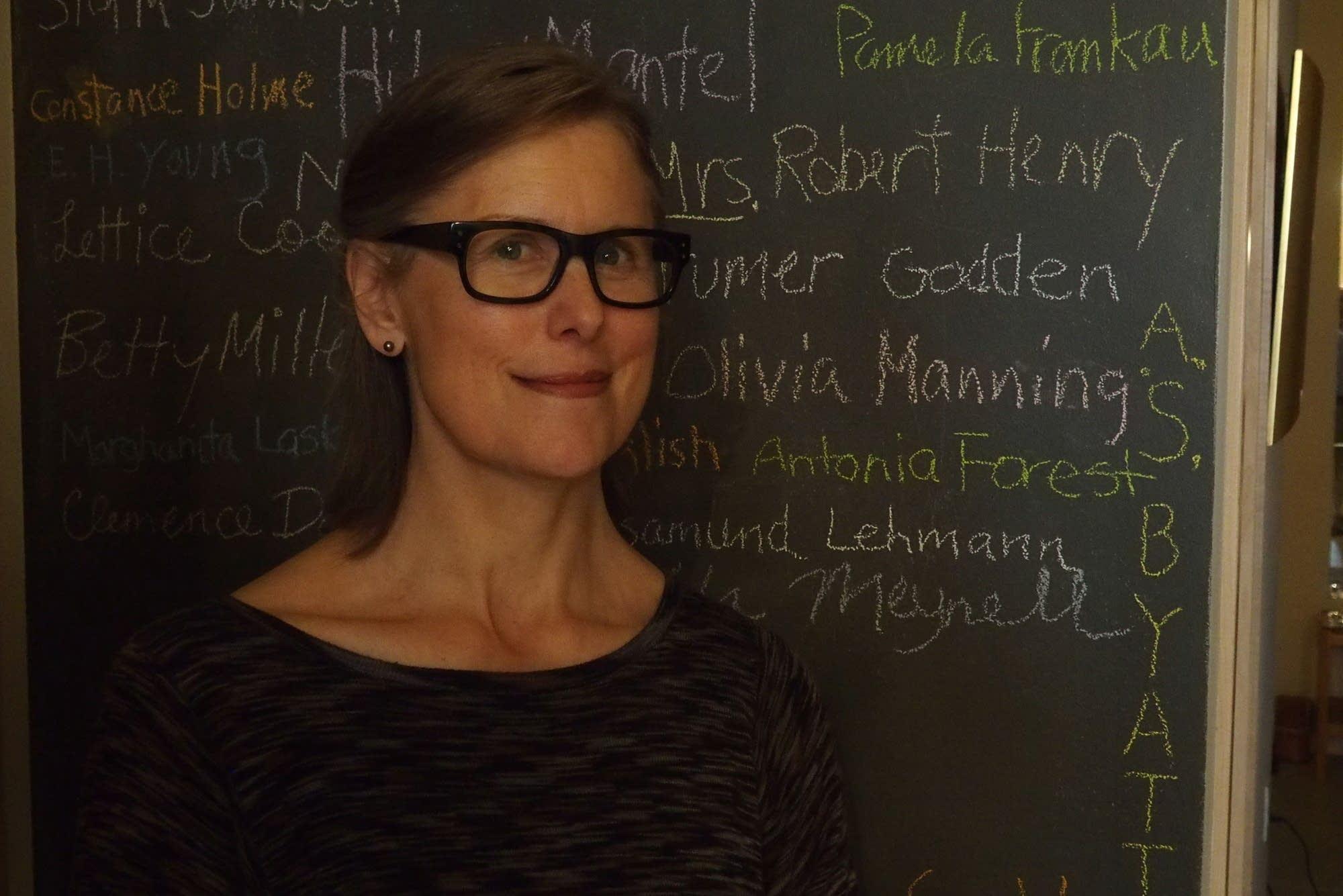 "Sarah Stonich's new novel is titled ""Laurentian Divide."""
