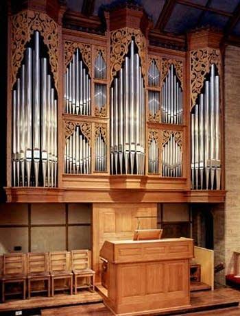 1997 Noack organ at Epiphany Episcopal Church, Seattle, WA