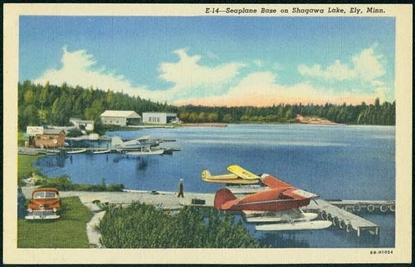 A seaplane base on Shaqawa Lake