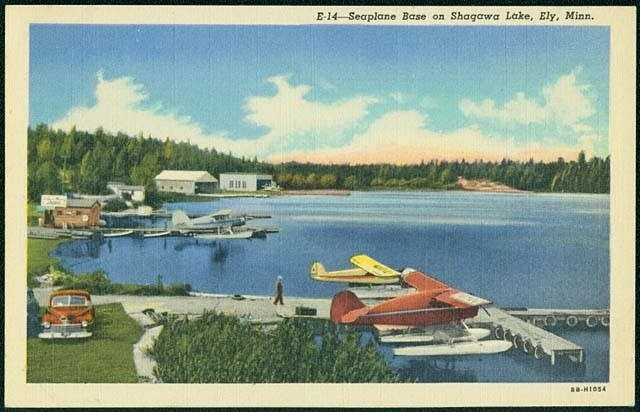 A seaplane base on Shaqawa Lake