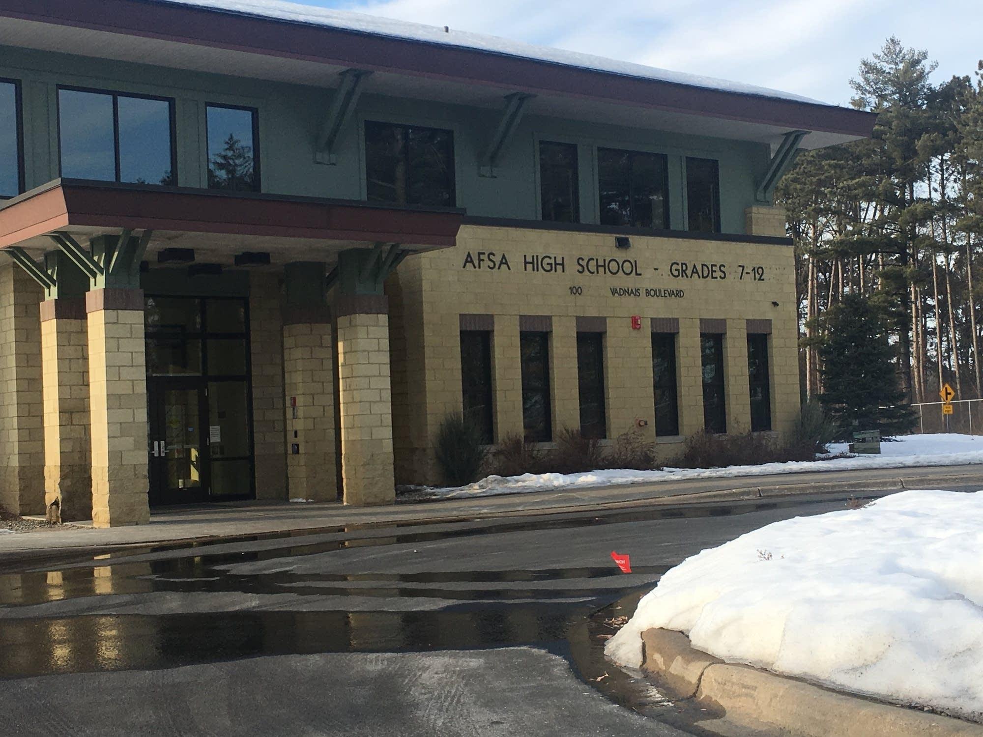 AFSA charter school in Vadnais Heights