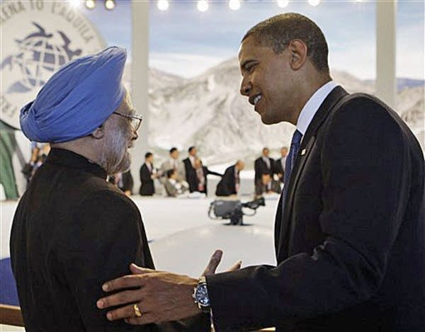 Obama and India's prime minister