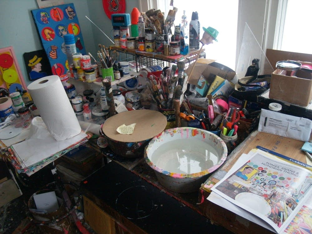 Gaard's workbench