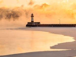 Lake Superior steam